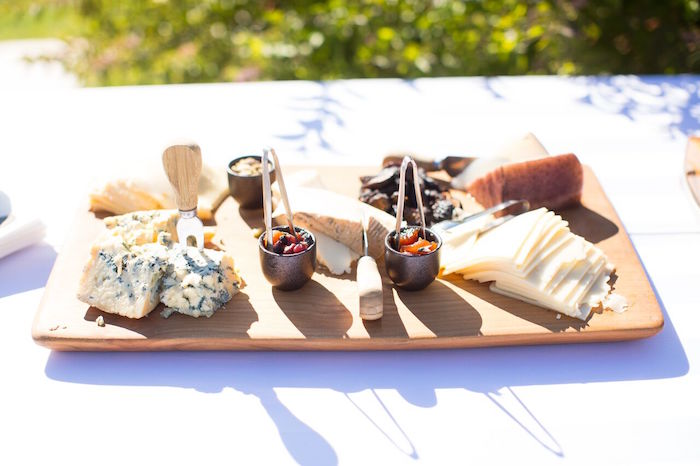 Cheese plate from a Chic Paw Patrol Pool Birthday Party on Kara's Party Ideas | KarasPartyIdeas.com (9)