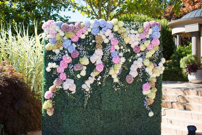 green flower birthday images