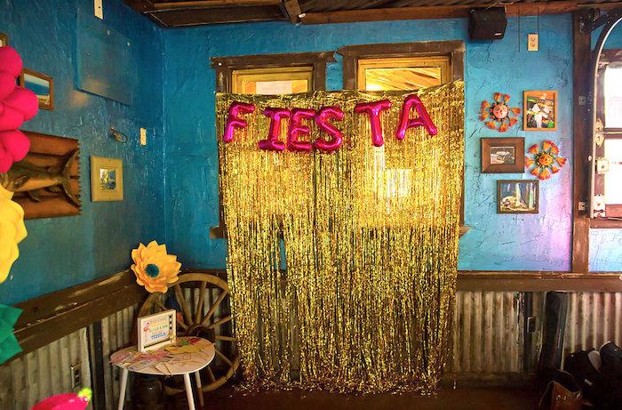 Fiesta Photo Booth from a Colorful Flamingle Fiesta via Kara's Party Ideas | KarasPartyIdeas.com (8)