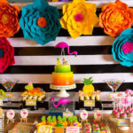 Colorful Flamingle Fiesta via Kara's Party Ideas | KarasPartyIdeas.com (2)