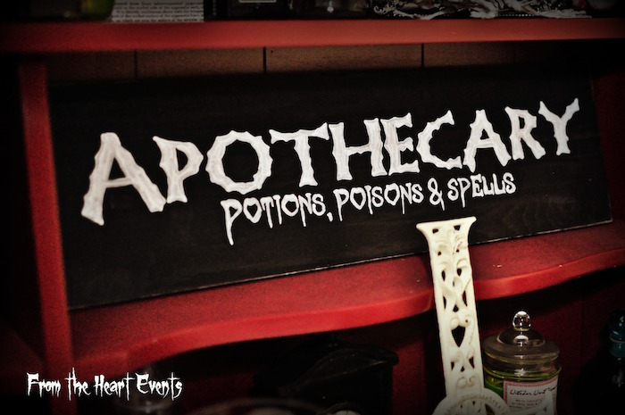 Kara S Party Ideas Creepy Apothecary Vintage Halloween