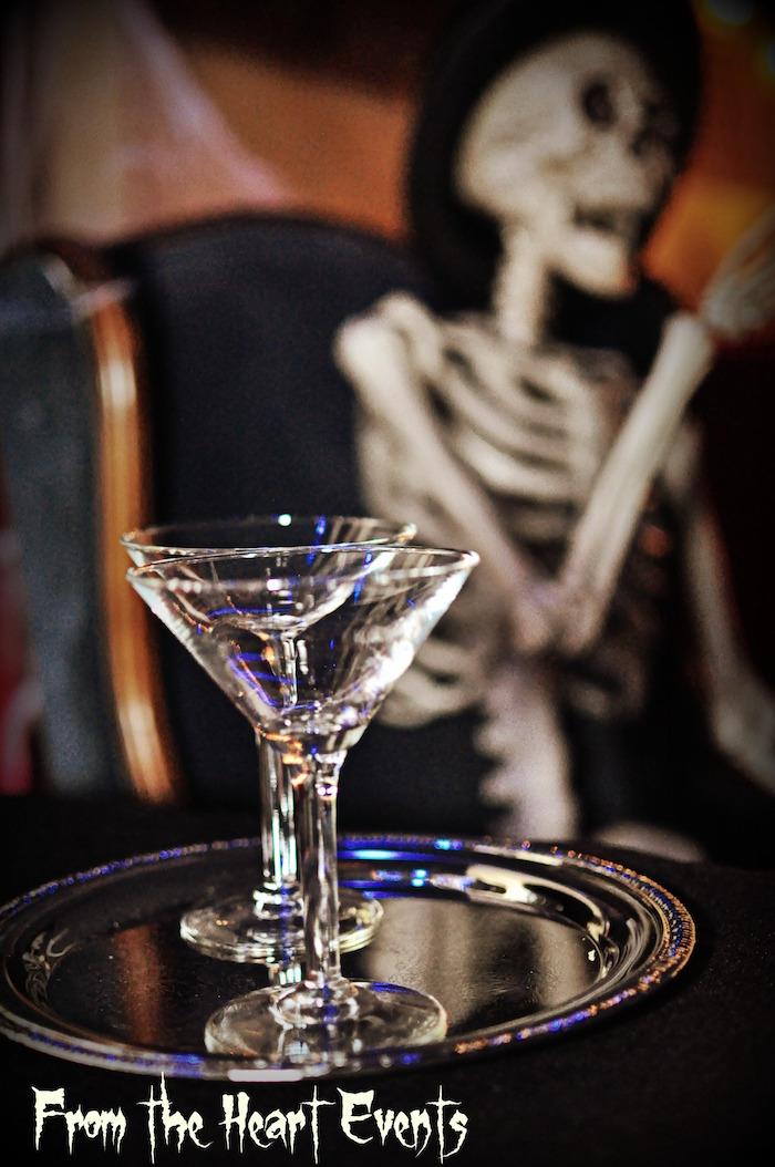 Margarita glass from a Creepy Apothecary Vintage Halloween Party on Kara's Party Ideas | KarasPartyIdeas.com (23)