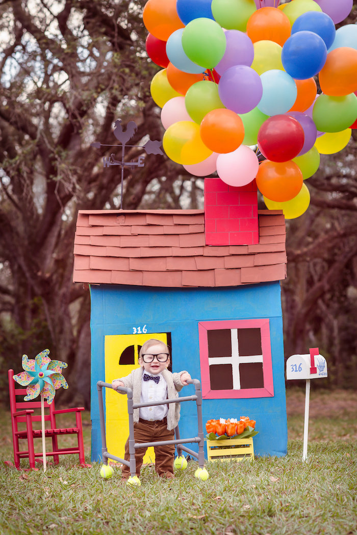 Disney's Up Themed Birthday Party on Kara's Party Ideas | KarasPartyIdeas.com (25)