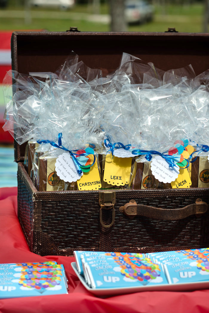 Party favors from a Disney's Up Themed Birthday Party on Kara's Party Ideas | KarasPartyIdeas.com (23)