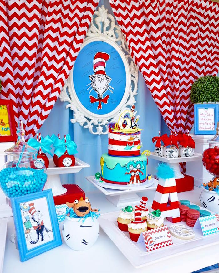 Dr Seuss Birthday Cake Ideas