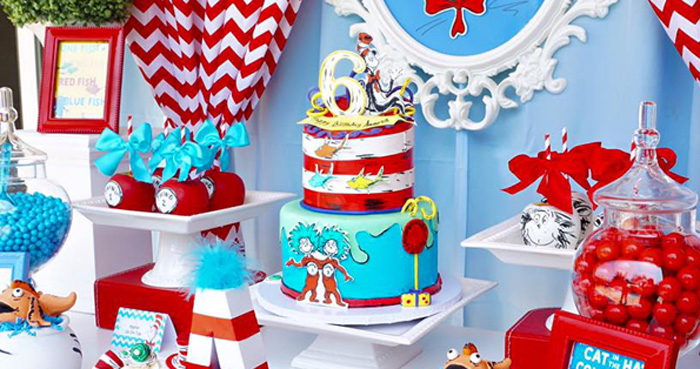 Dr. Seuss Birthday Party on Kara's Party Ideas | KarasPartyIdeas.com (1)