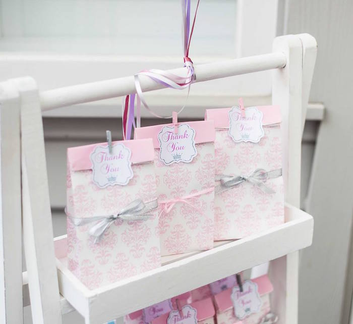 Favor bags from an Elegant Purple Princess Birthday Party on Kara's Party Ideas | KarasPartyIdeas.com (10)