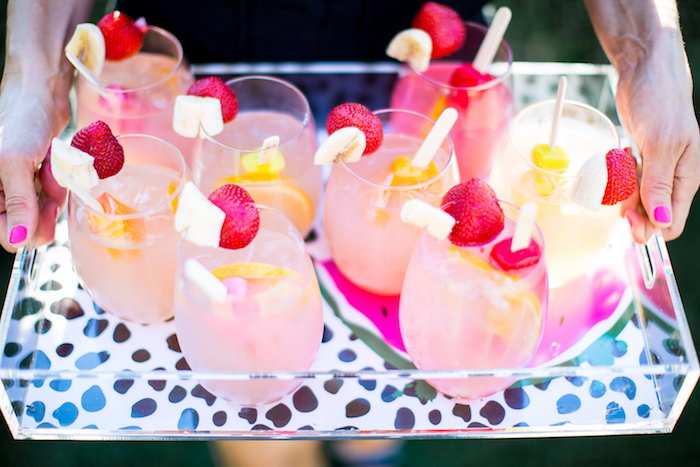 Tropical drinks from a Favorite Things Summer Party on Kara's Party Ideas | KarasPartyIdeas.com (61)