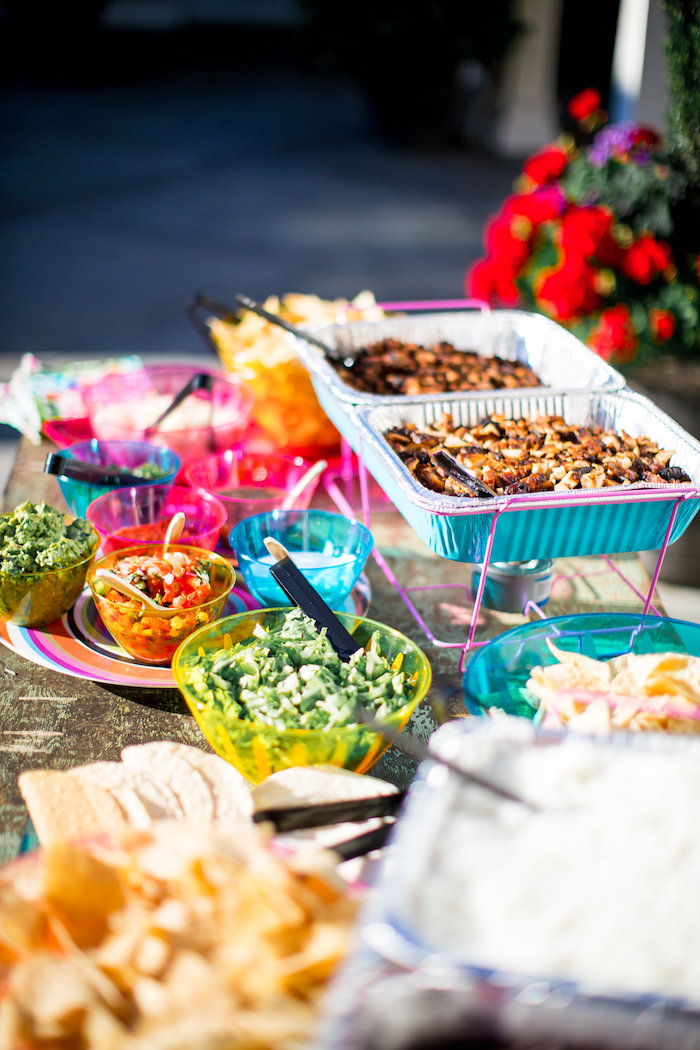 Food bar from a Favorite Things Summer Party on Kara's Party Ideas | KarasPartyIdeas.com (54)