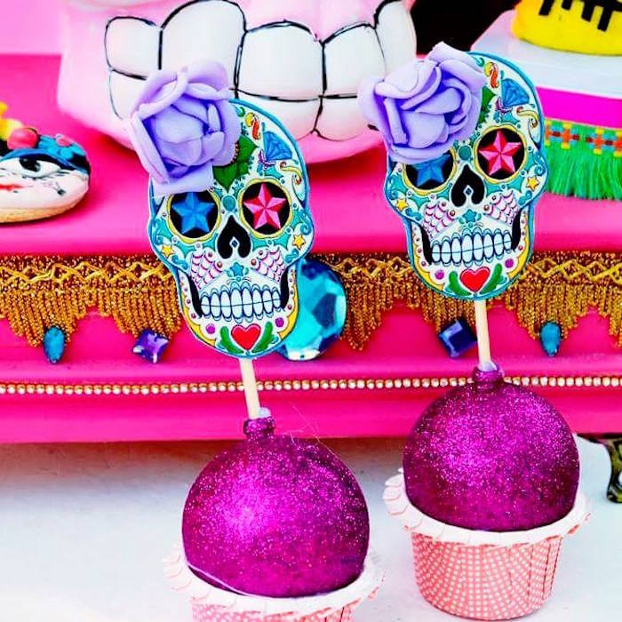 Frida Kahlo Day of the Dead Inspired Fiesta on Kara's Party Ideas | KarasPartyIdeas.com (22)