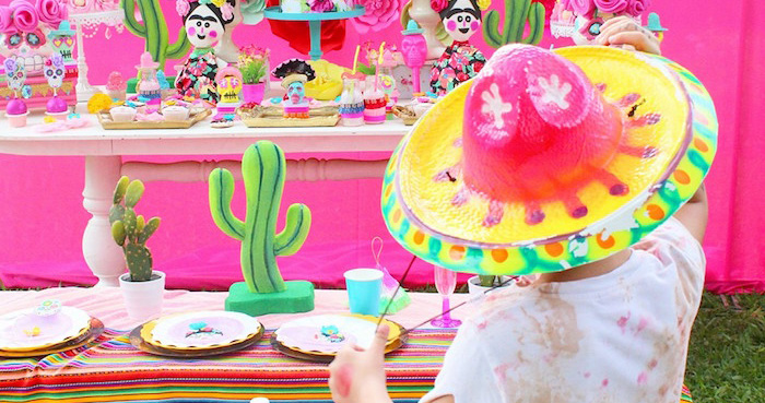 Frida Kahlo Day of the Dead Inspired Fiesta on Kara's Party Ideas | KarasPartyIdeas.com (2)