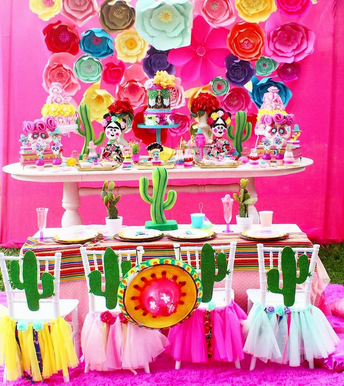 Frida Kahlo Day of the Dead Inspired Fiesta on Kara's Party Ideas | KarasPartyIdeas.com (14)