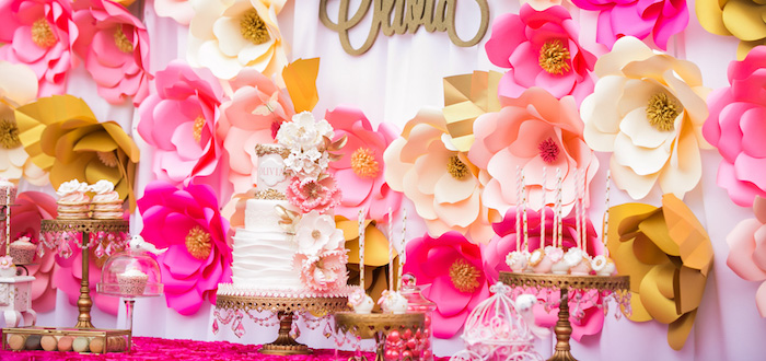 Garden Tea Party on Kara's Party Ideas | KarasPartyIdeas.com (3)