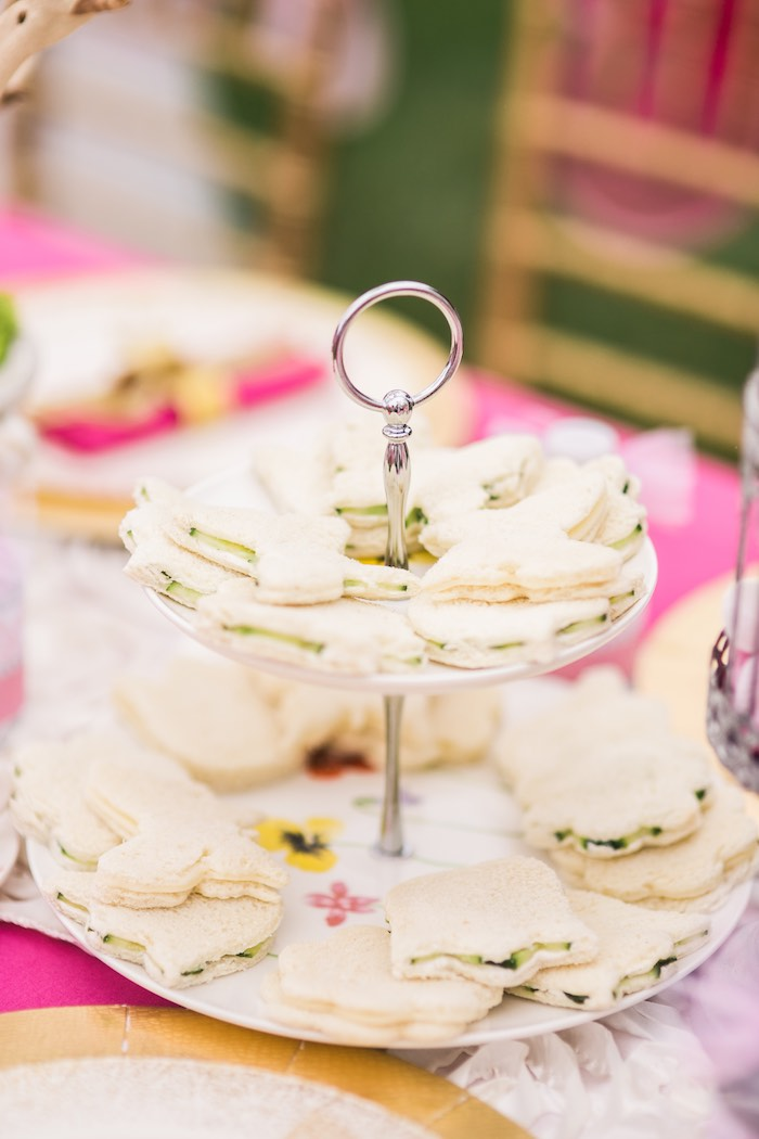 Sandwiches from a Garden Tea Party on Kara's Party Ideas   KarasPartyIdeas.com (32)