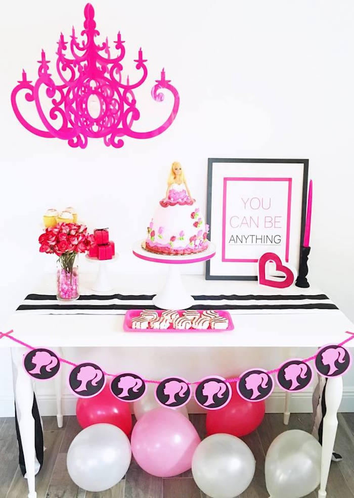 Kara S Party Ideas Glam Barbie Birthday Party Kara S