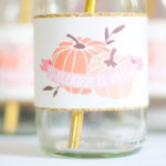 Gold + Glitter Our Little Pumpkin Birthday Party on Kara's Party Ideas | KarasPartyIdeas.com (2)