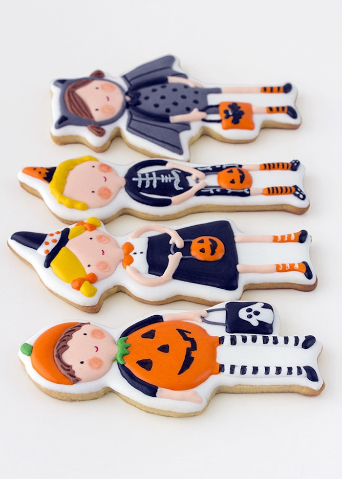 Cookies from a Halloween Party for Kids on Kara's Party Ideas | KarasPartyIdeas.com (6)