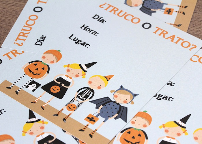 Invitation from a Halloween Party for Kids on Kara's Party Ideas | KarasPartyIdeas.com (11)