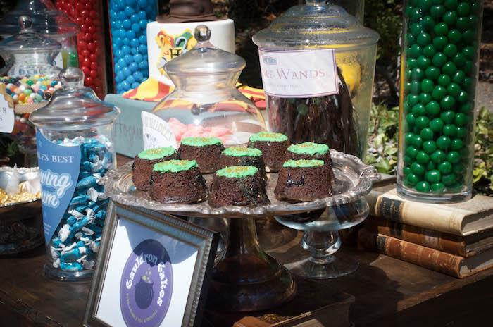 Cauldron Cakes from a Harry Potter Birthday Party on Kara's Party Ideas | KarasPartyIdeas.com (19)