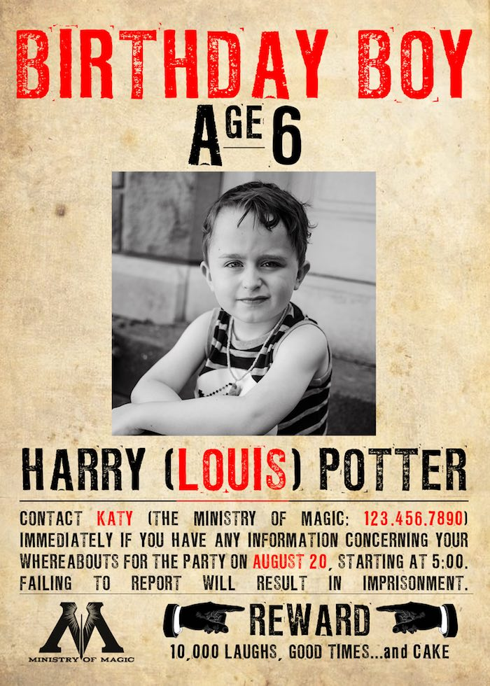 Karas party ideas chamber of secrets harry potter birthday party harry potter party invitation from a harry potter birthday party on karas party ideas karaspartyideas solutioingenieria Gallery