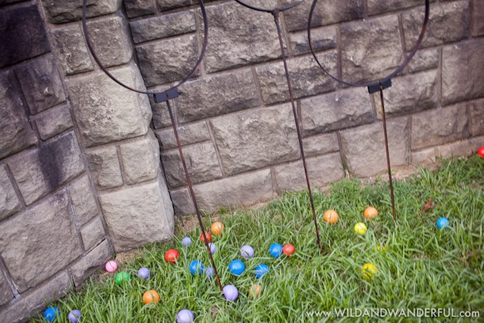 Mini Quidditch Field from a Harry Potter Birthday Party on Kara's Party Ideas | KarasPartyIdeas.com (8)