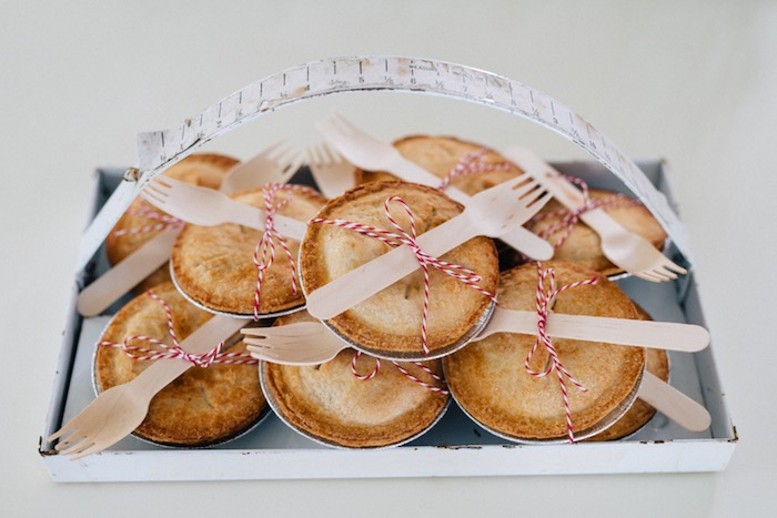 Mini pies from a How to Host a Back to School Party on Kara's Party Ideas | KarasPartyIdeas.com (50)