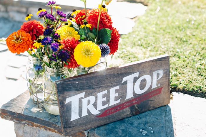 Tree Top centerpiece from a How to Host a Back to School Party on Kara's Party Ideas | KarasPartyIdeas.com (44)