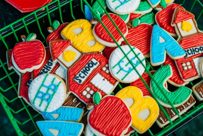 School house cookies from a How to Host a Back to School Party on Kara's Party Ideas | KarasPartyIdeas.com (36)