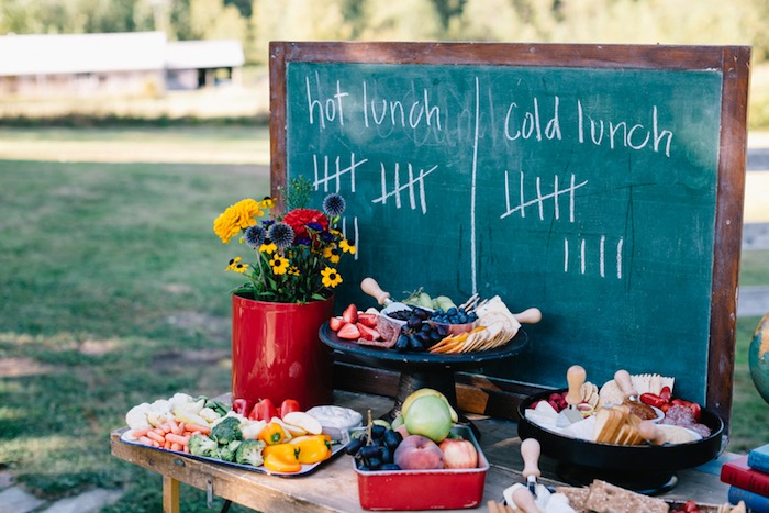 Food and snack table from a How to Host a Back to School Party on Kara's Party Ideas | KarasPartyIdeas.com (33)
