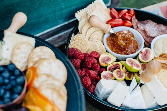 Fruit, cheese and cracker tray from a How to Host a Back to School Party on Kara's Party Ideas | KarasPartyIdeas.com (28)