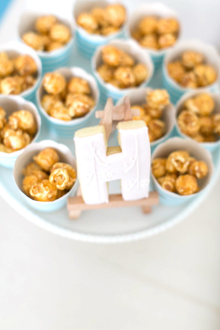 Caramel popcorn cups from a Japanese Sushi Chef Birthday Party on Kara's Party Ideas | KarasPartyIdeas.com (27)