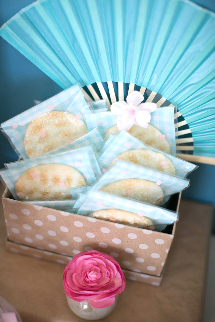 Sushi Dinner Party Ideas Part - 50: Cookie Favors From A Japanese Sushi Chef Birthday Party On Karau0027s Party  Ideas | KarasPartyIdeas.
