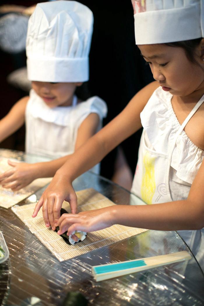 Japanese Sushi Chef Birthday Party on Kara's Party Ideas | KarasPartyIdeas.com (8)