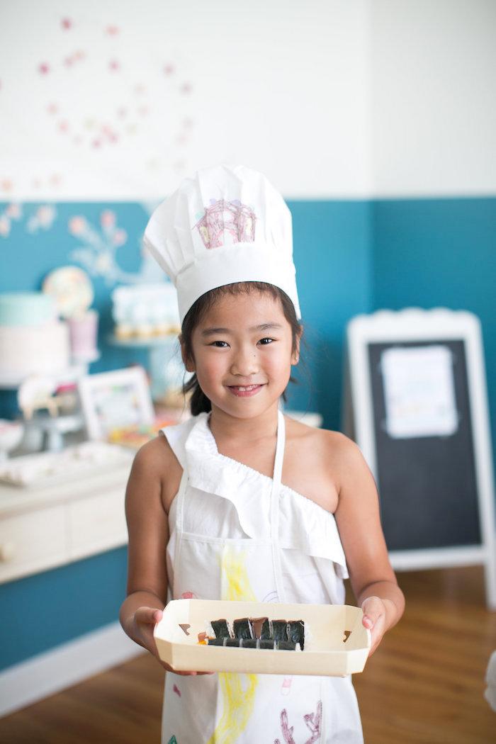 Japanese Sushi Chef Birthday Party on Kara's Party Ideas | KarasPartyIdeas.com (7)