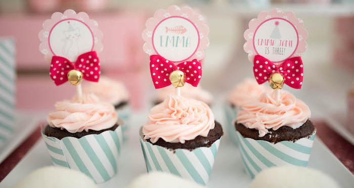Kitty Cat Birthday Party on Kara's Party Ideas | KarasPartyIdeas.com (1)
