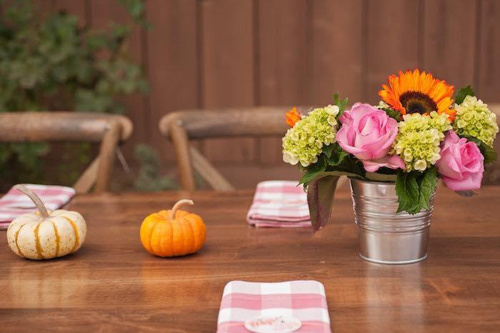 """Little Pumpkin"" Fall Picnic Birthday Party on Kara's Party Ideas | KarasPartyIdeas.com (38)"