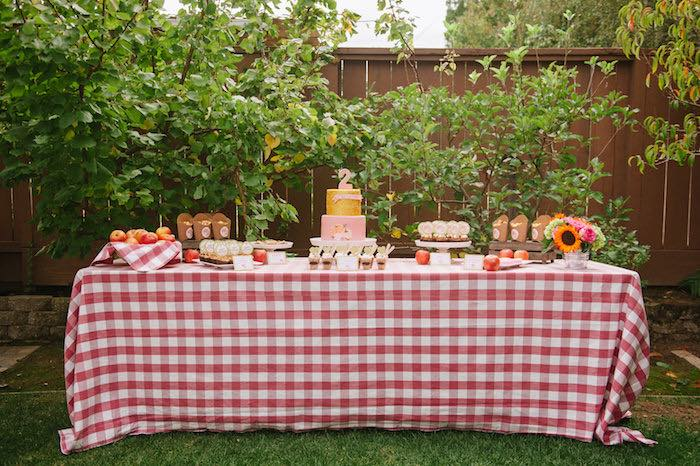 """Little Pumpkin"" Fall Picnic Birthday Party on Kara's Party Ideas | KarasPartyIdeas.com (27)"