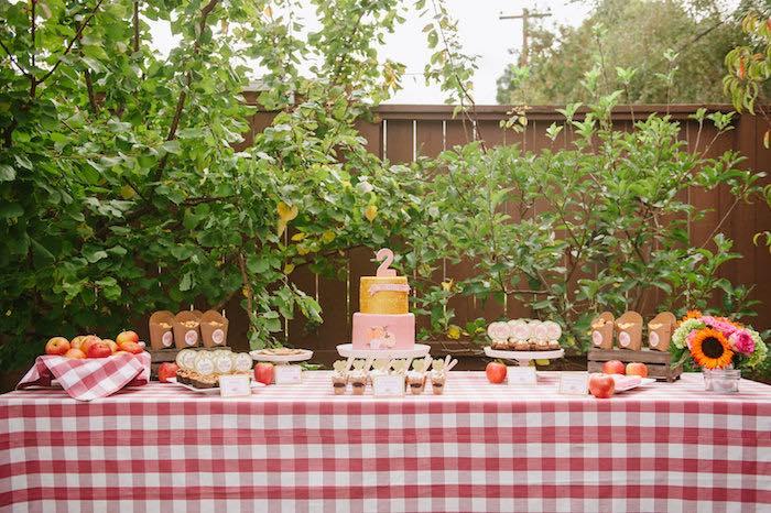 """Little Pumpkin"" Fall Picnic Birthday Party on Kara's Party Ideas | KarasPartyIdeas.com (26)"