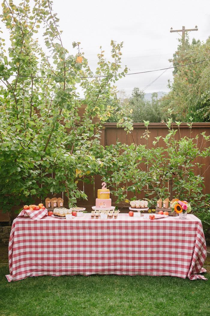 """Little Pumpkin"" Fall Picnic Birthday Party on Kara's Party Ideas | KarasPartyIdeas.com (25)"