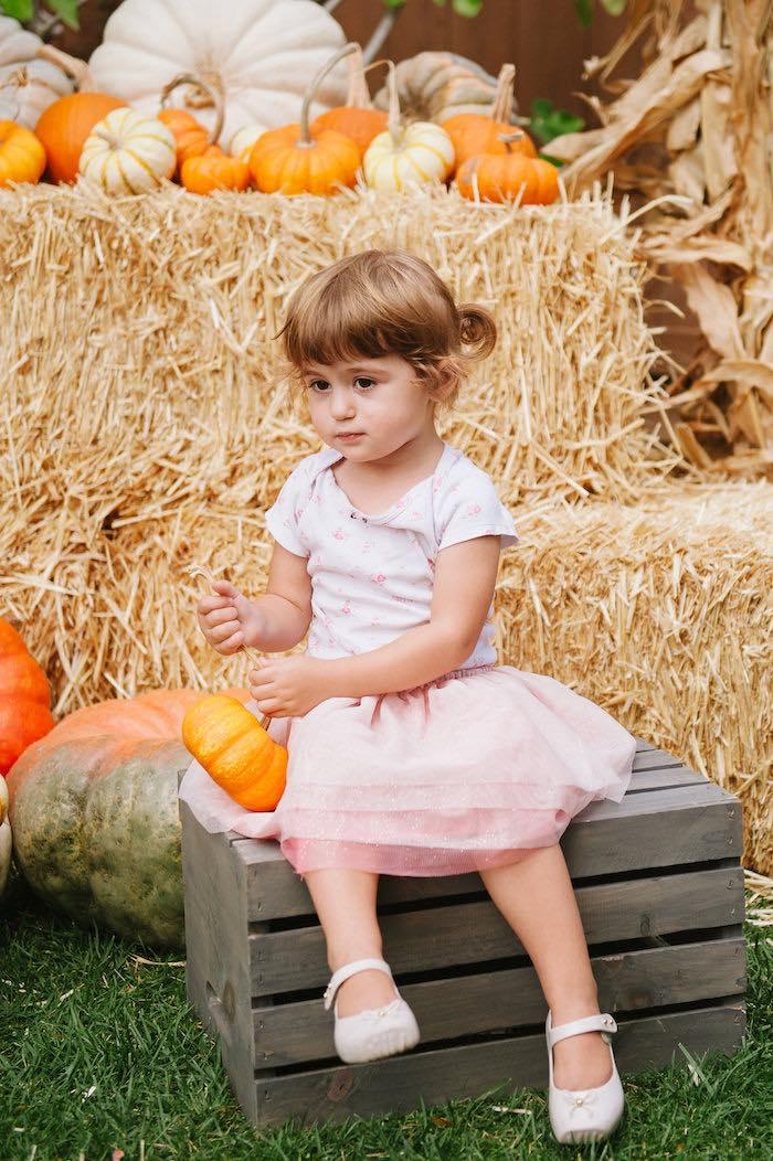 """Little Pumpkin"" Fall Picnic Birthday Party on Kara's Party Ideas | KarasPartyIdeas.com (6)"