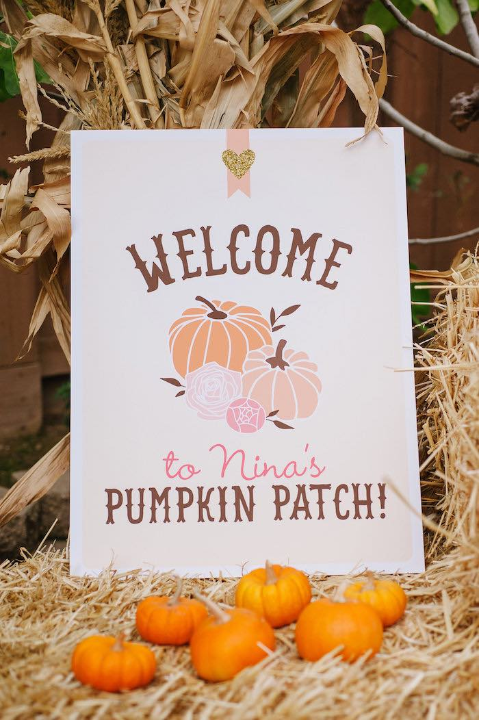 """Little Pumpkin"" Fall Picnic Birthday Party on Kara's Party Ideas | KarasPartyIdeas.com (47)"