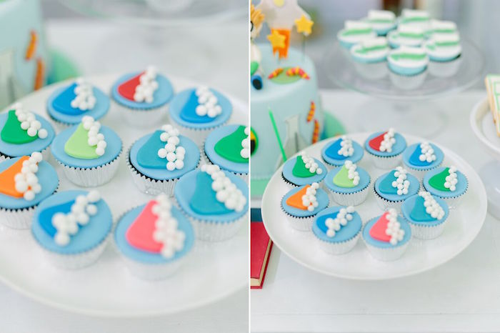 Cupcakes from a Mad Science Birthday Party on Kara's Party Ideas | KarasPartyIdeas.com (27)