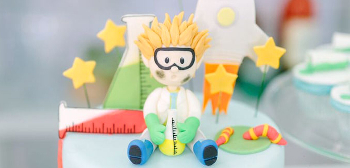 Mad Science Birthday Party on Kara's Party Ideas | KarasPartyIdeas.com (1)