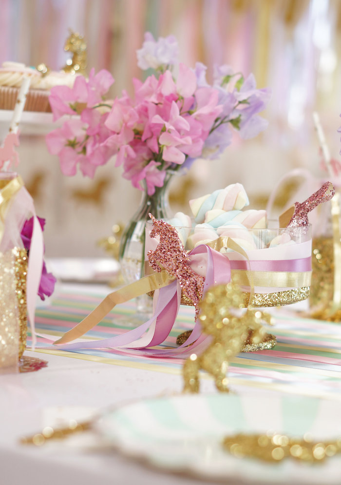 "Magical ""Magic is Four Real"" Unicorn Birthday Party on Kara's Party Ideas 