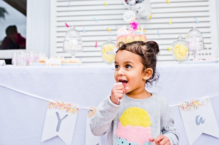 Marshmallows & Sprinkles Birthday Party on Kara's Party Ideas | KarasPartyIdeas.com (7)