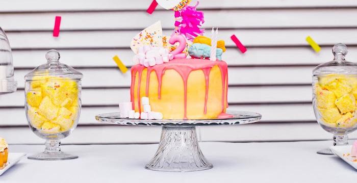Marshmallows & Sprinkles Birthday Party on Kara's Party Ideas   KarasPartyIdeas.com (1)
