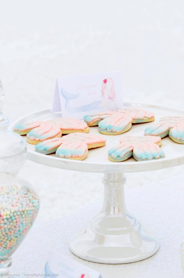mermaid-fin-cookies-at-a-mermaid-under-the-sea-themed-birthday-party-by-kara-allen-karas-party-ideas-karaspartyideas-com_-18