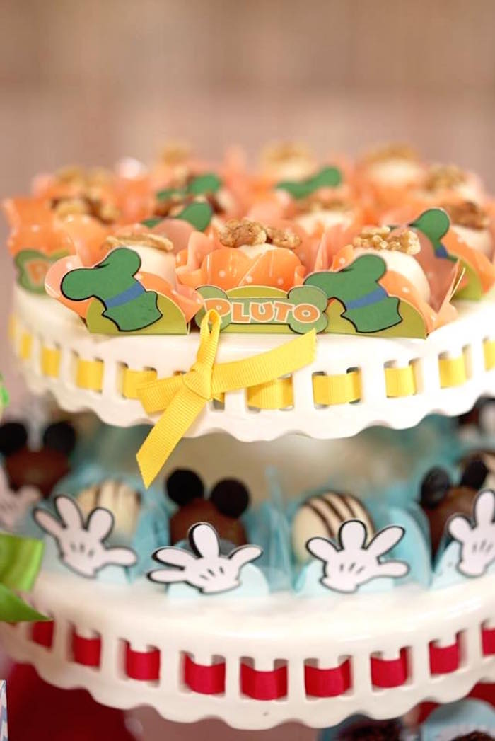 Truffles from a Mickey Mouse 1st Birthday Party on Kara's Party Ideas | KarasPartyIdeas.com (19)