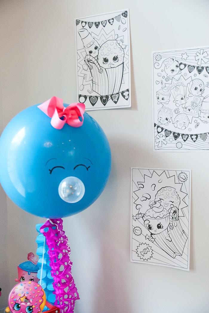 Modern Shopkins Birthday Party on Kara's Party Ideas | KarasPartyIdeas.com (18)