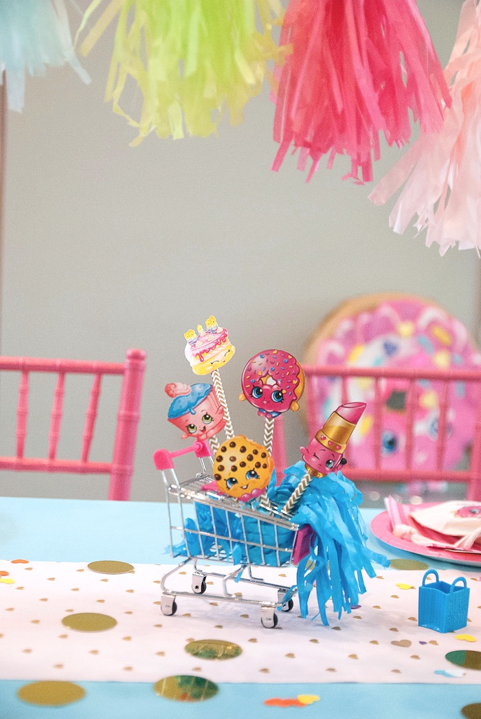 Modern Shopkins Birthday Party on Kara's Party Ideas | KarasPartyIdeas.com (14)